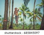 india  goa   january 9  2017 ...   Shutterstock . vector #685845097