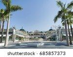 safari shopping center  las...   Shutterstock . vector #685857373