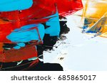 painted abstract background | Shutterstock . vector #685865017