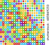 modern texture of square... | Shutterstock .eps vector #685869253
