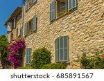 famous village of saint paul de ...   Shutterstock . vector #685891567