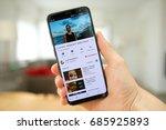 lendelede  belgium   july 28th... | Shutterstock . vector #685925893
