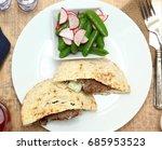 mediterranean middle eastern... | Shutterstock . vector #685953523