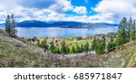 okanagan lake  penticton ... | Shutterstock . vector #685971847