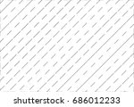 line symbol of cross section of ... | Shutterstock .eps vector #686012233