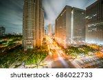 tokyo metropolitan government... | Shutterstock . vector #686022733