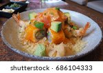 japanese food   sushi nigiri  ...   Shutterstock . vector #686104333