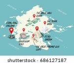 info graphic illustration... | Shutterstock .eps vector #686127187