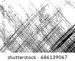 grunge texture   abstract... | Shutterstock .eps vector #686139067