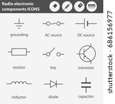 Electronic Components Line Gra...