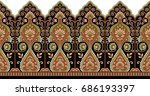 seamless traditional indian... | Shutterstock . vector #686193397