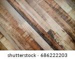 the brown wood texture with... | Shutterstock . vector #686222203