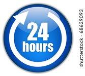 twenty four hours service   Shutterstock . vector #68629093