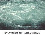 Small photo of minimalist agitated water background