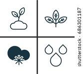 Harmony Icons Set. Collection...