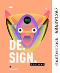 abstract modern toys design...   Shutterstock .eps vector #686391367
