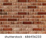 Fragment Of A Brick Wall