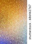 light blue  yellow christmas... | Shutterstock . vector #686462767