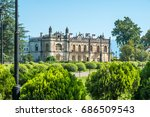 dadiani palace located inside a ... | Shutterstock . vector #686509543