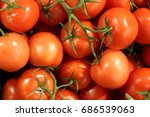 tomatoes on the market | Shutterstock . vector #686539063