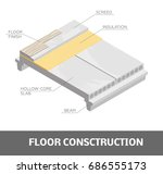 floor construction. vector... | Shutterstock .eps vector #686555173