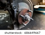 Remove The Wheel Nut To Repair...