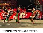 jakarta  indonesia   april 23 ... | Shutterstock . vector #686740177