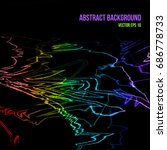abstract vector background with ...   Shutterstock .eps vector #686778733
