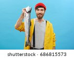 Happy Fisherman With Blue Eyes...