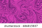 marble pattern seamless texture ... | Shutterstock .eps vector #686815837