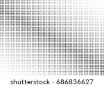 abstract halftone dotted...   Shutterstock .eps vector #686836627