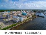 aerial image of florida keys... | Shutterstock . vector #686883643