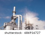 industrial zone the equipment... | Shutterstock . vector #686916727
