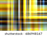 abstract blue  yellow and brown ... | Shutterstock . vector #686948167