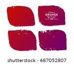 grunge banner .grunge... | Shutterstock .eps vector #687052807