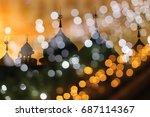 background blur landmark... | Shutterstock . vector #687114367
