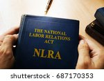 the national labor relations... | Shutterstock . vector #687170353