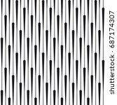 vector seamless pattern.... | Shutterstock .eps vector #687174307