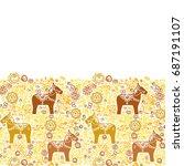 card banner template... | Shutterstock .eps vector #687191107