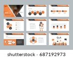 layout design template for... | Shutterstock .eps vector #687192973