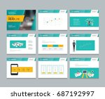 layout design template for...   Shutterstock .eps vector #687192997