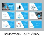 layout design template for... | Shutterstock .eps vector #687193027