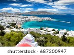 Panoramic View Over The Town O...