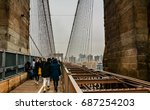 new york  united states  ... | Shutterstock . vector #687254203