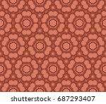 seamless creative pattern...