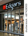 edgars shop window. fashion... | Shutterstock . vector #687428503