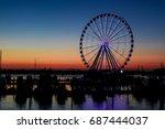 oxon hill  md   july 30  2017 ... | Shutterstock . vector #687444037