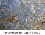 stone texture background detail ... | Shutterstock . vector #687464413