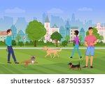 vector illustration of the... | Shutterstock .eps vector #687505357