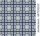 fashion design seamless pattern | Shutterstock . vector #687523213